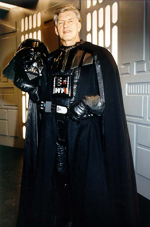 Dave Prowse is Darth Vader