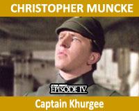 Wattographs Recollections: Chris Muncke — Captain Khurgee