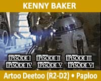 Wattographs Recollections: Kenny Baker — Artoo Detoo (R2D2)